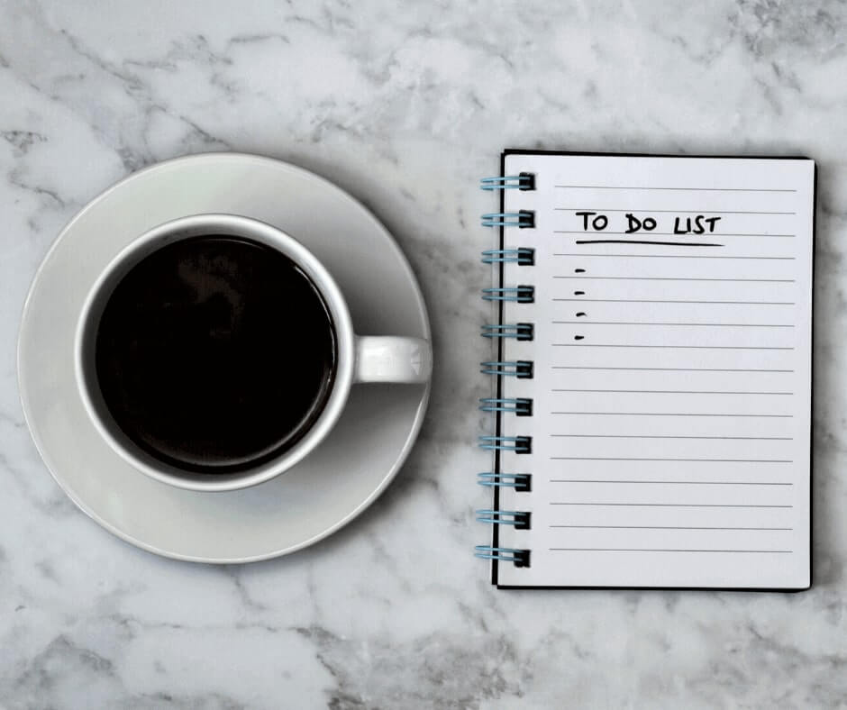 Achieve your goal with a to do list
