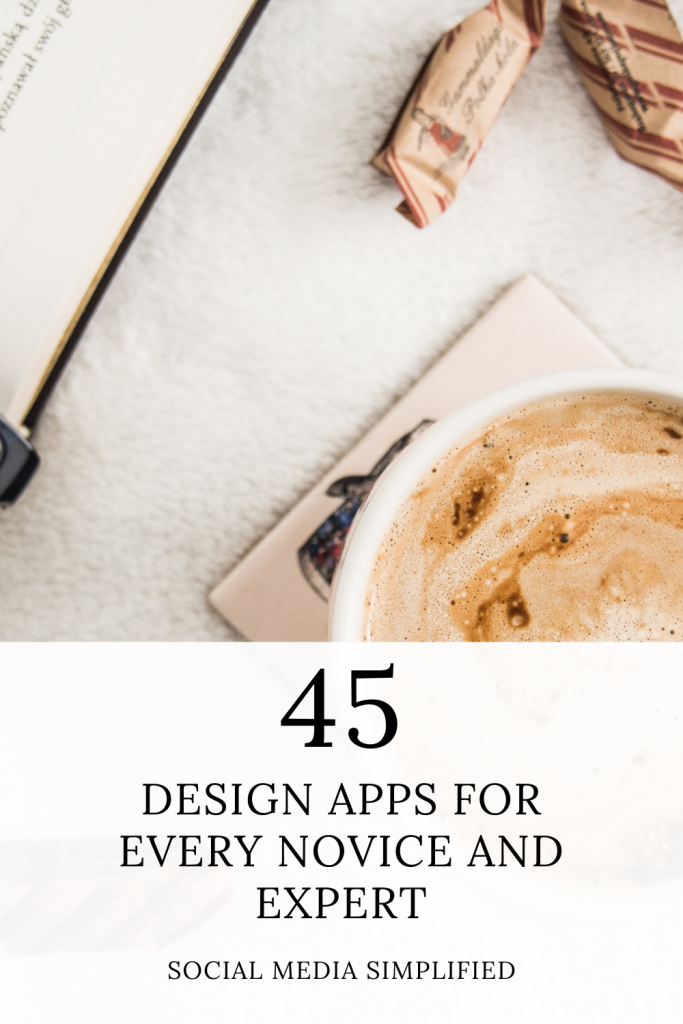 designing is easy when you have an app