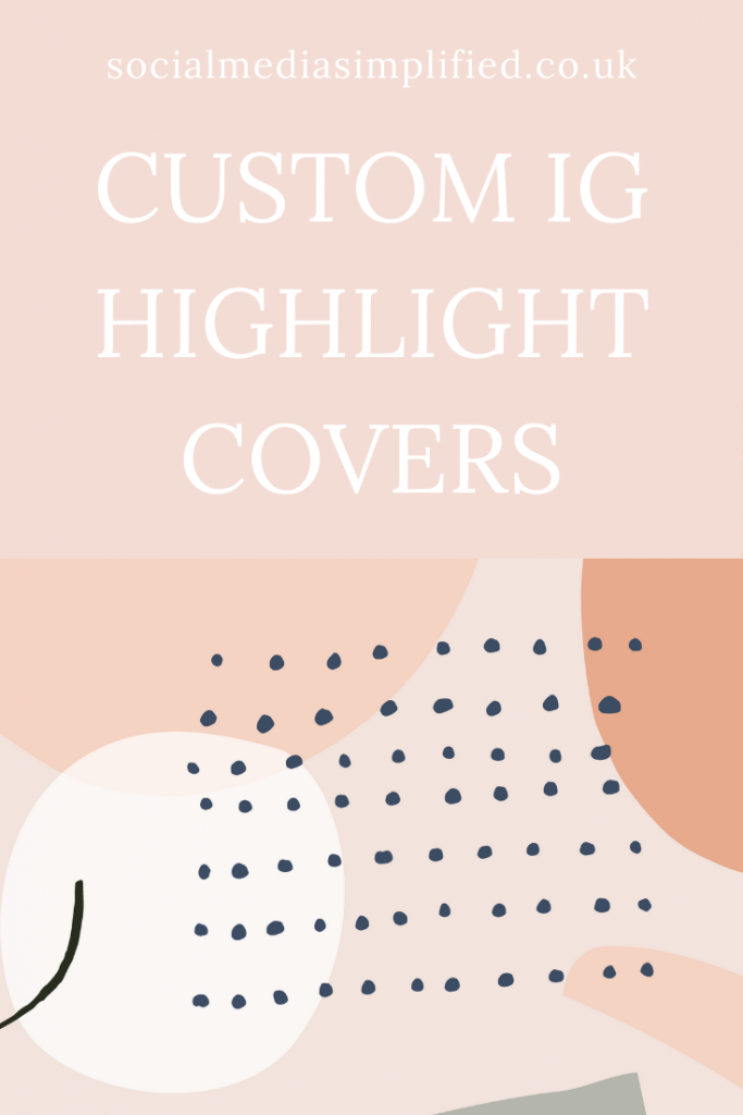 Easily make highlight covers
