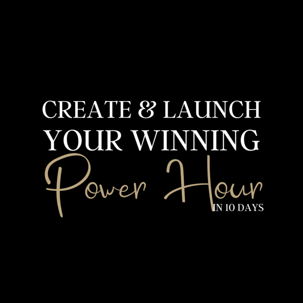 Power Hour Challenge Sign Up