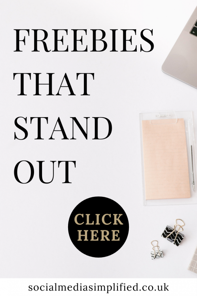 Freebies that stand out get you leads