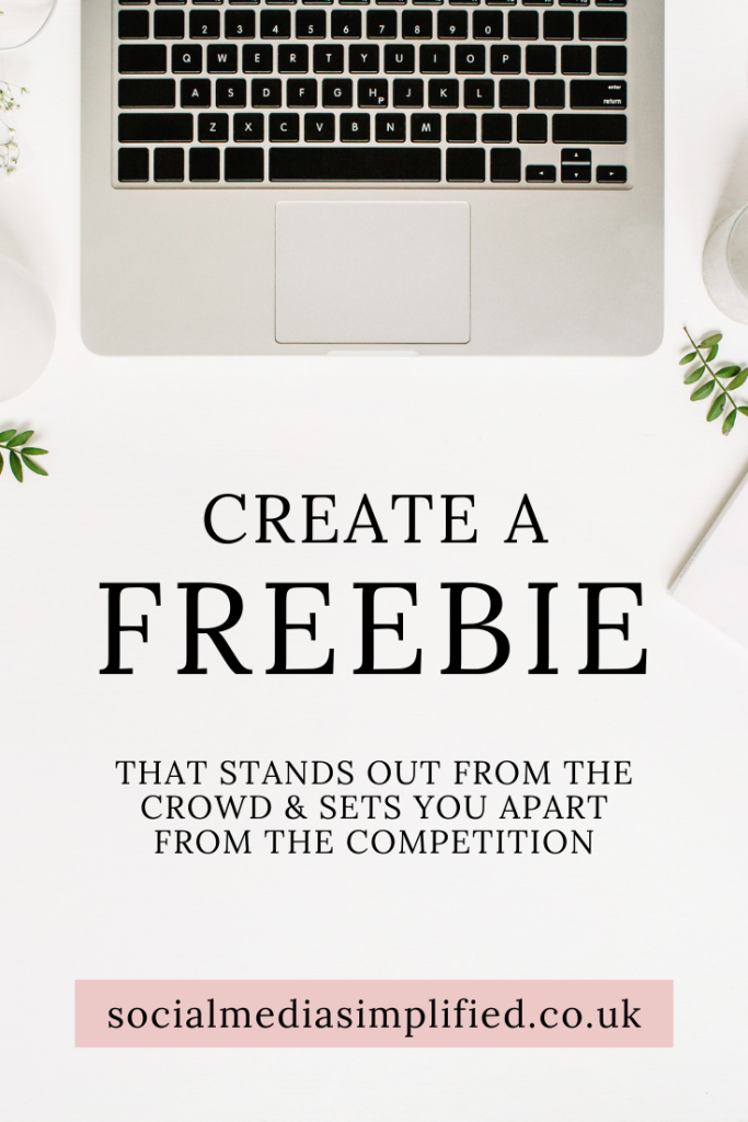 Create a freebie that stands out from the crowd