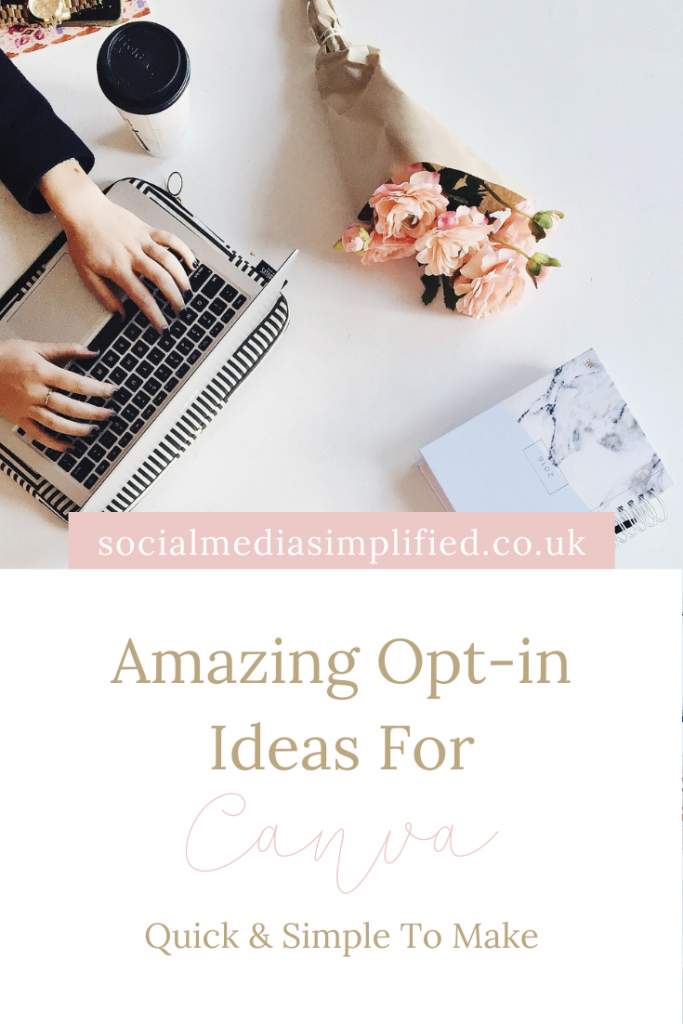Create amazing opt ins with these ideas