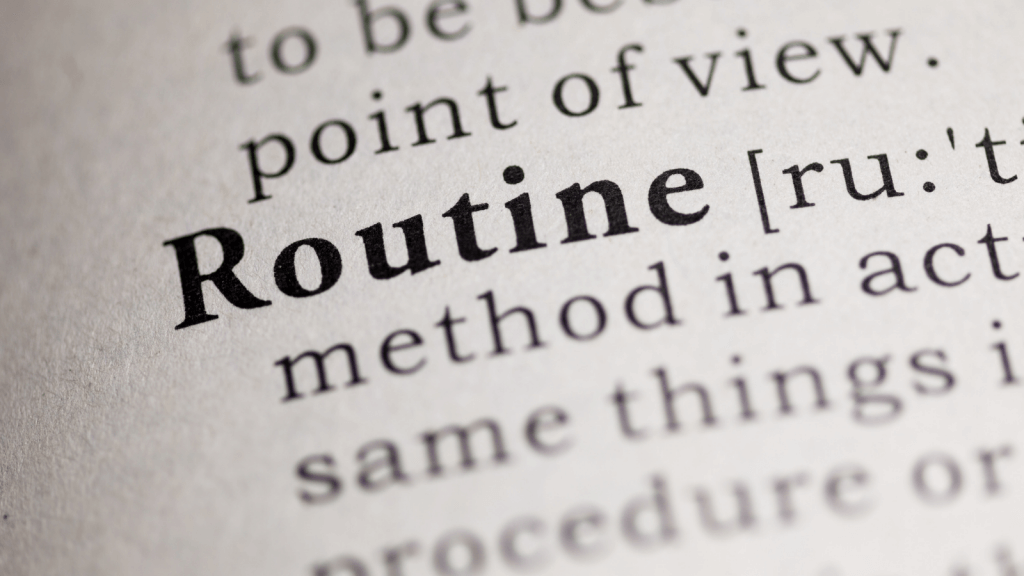 Find a morning routine that works for you