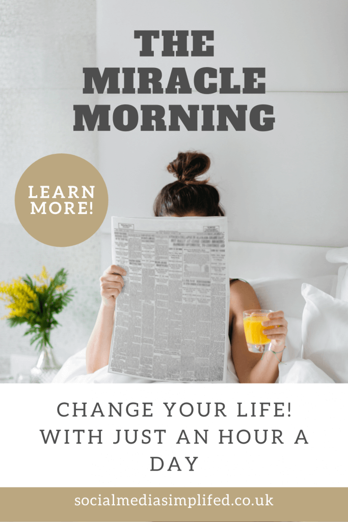 Start your day with the miracle morning