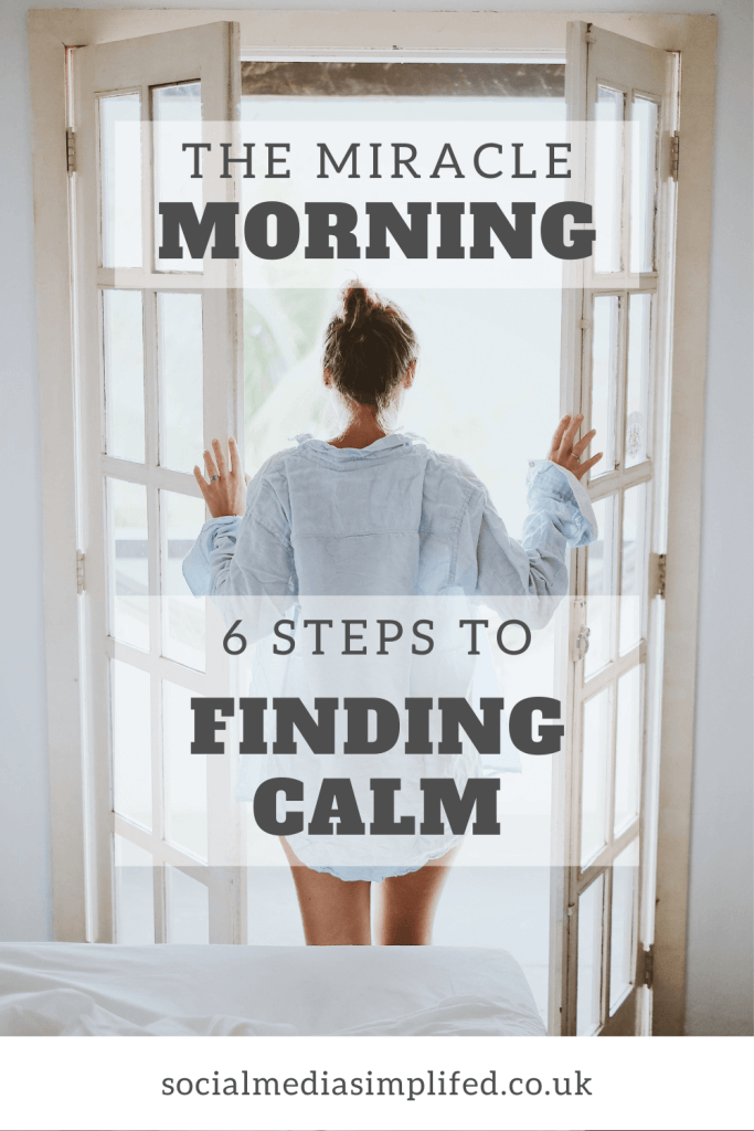 Find calm within your morning routine