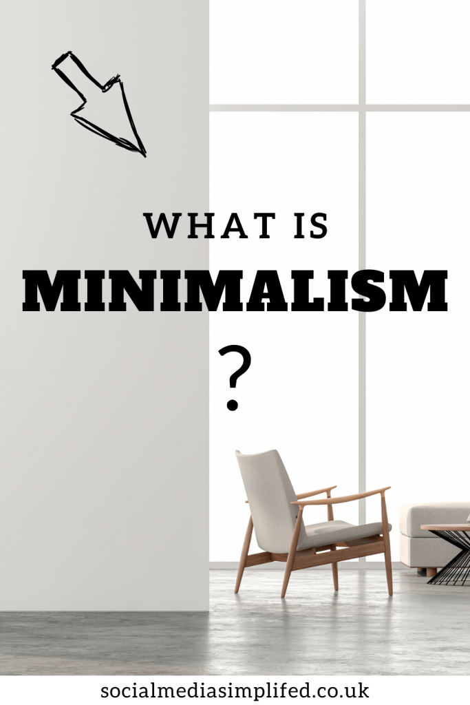 Minimalism can bring us happiness