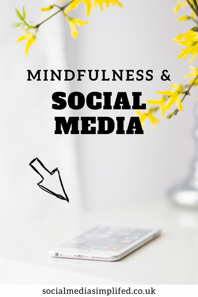 How can we use social media with midnfulness