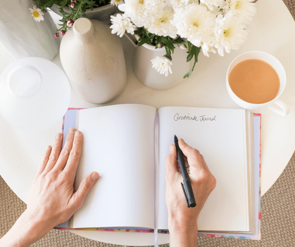SPend time journaling in your morning routine