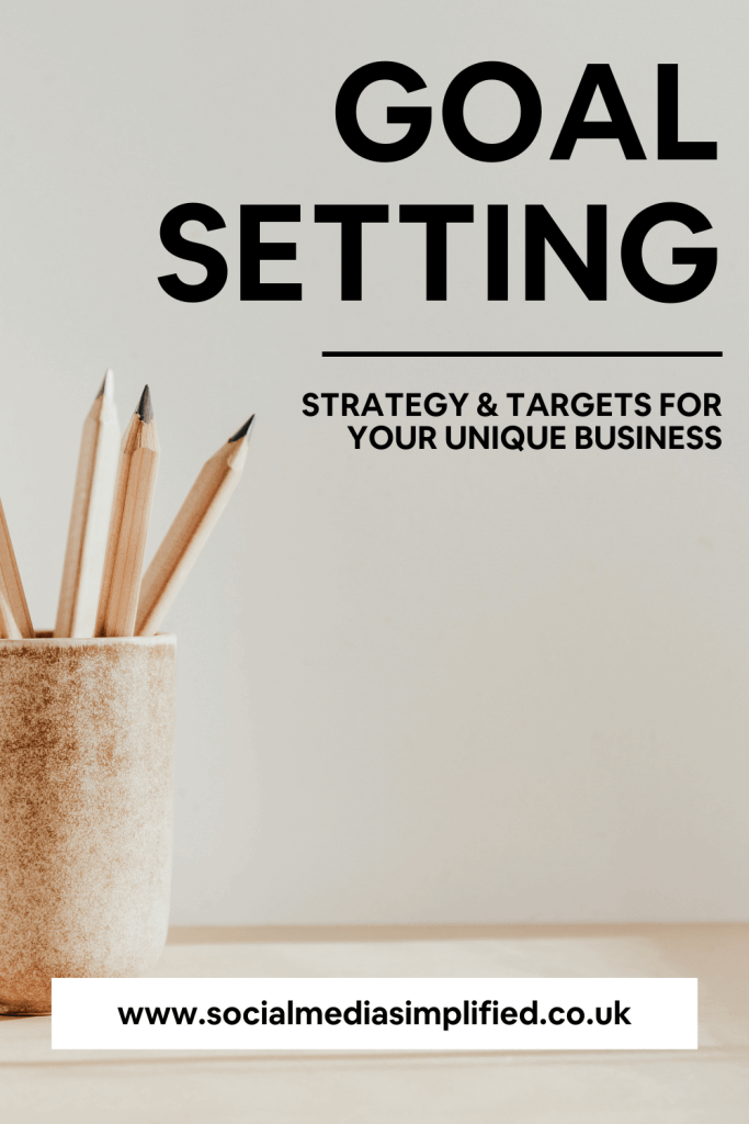 Pin image for business strategy and targets