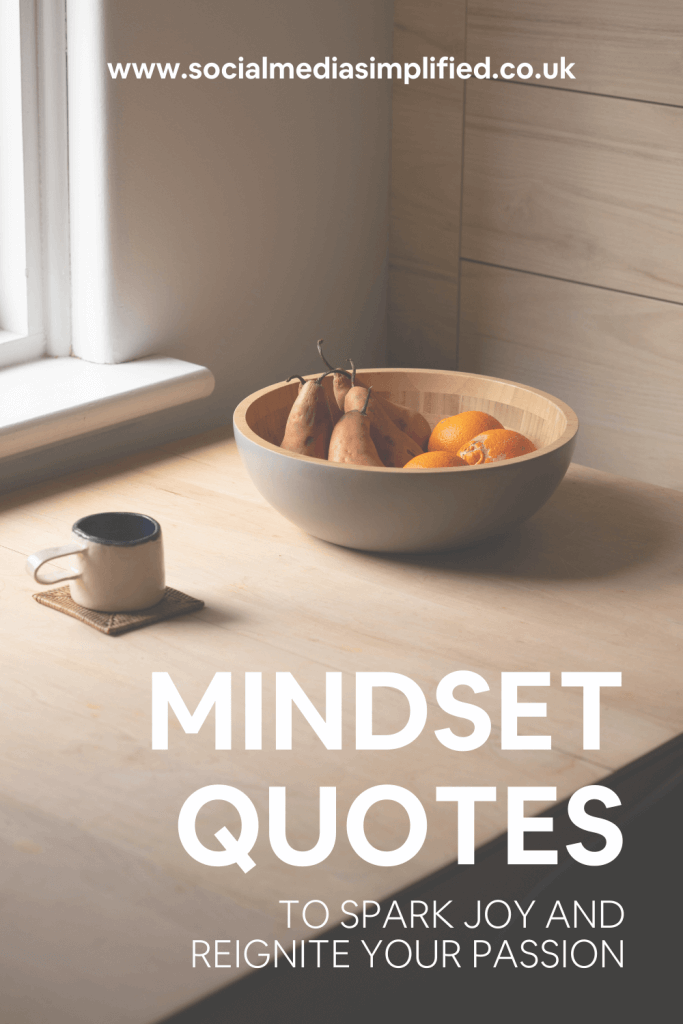 Pin image describing mindset quotes